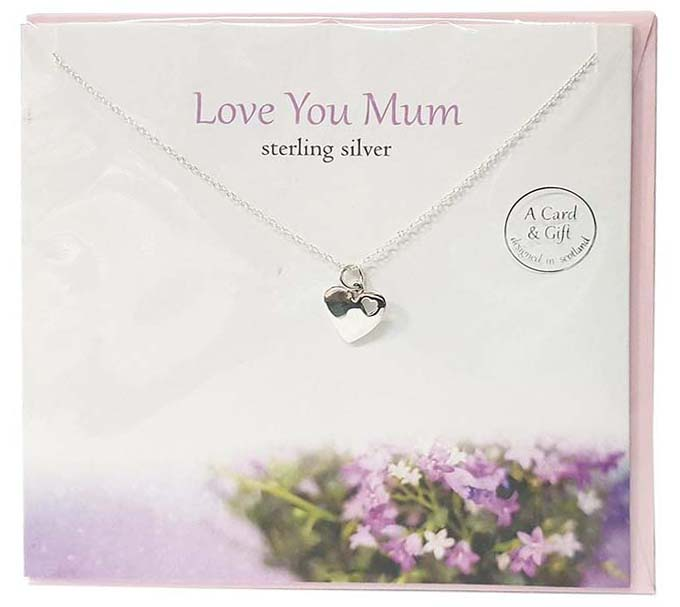 The Silver Studio Pendant and Card Collection for Mother's Day.