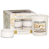 Yankee Candle Wedding Day fragrance Tea Lights and Votives.