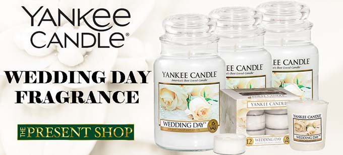 Wedding Day Yankee Candle Fragrances from The Present Shop