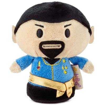 Alternate reality Mr Spock from the Classic Star Trek episode 'Mirror Mirror'.