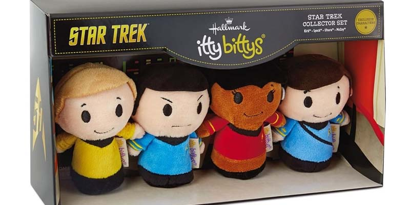 Itty bittys box set of chracters from the origanal series of Star Trek.