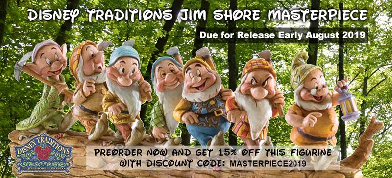 Disney Traditions Jim Shore Masterpiece Edition 2019