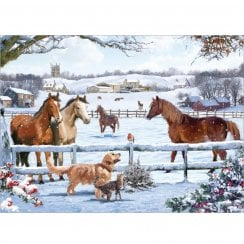 1000 Piece Jigsaw - Christmas on the Farm