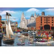 1000 Piece Jigsaw - Dockside