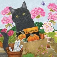 1000 Piece Jigsaw - Pumpkin Black Cat