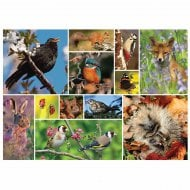 1000 Piece Jigsaw - RSPB Great British Wildlife