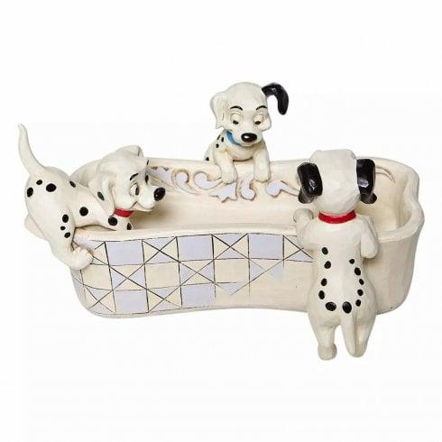 Disney Traditions 101 Dalmatians Bone Shaped Trinket Dish