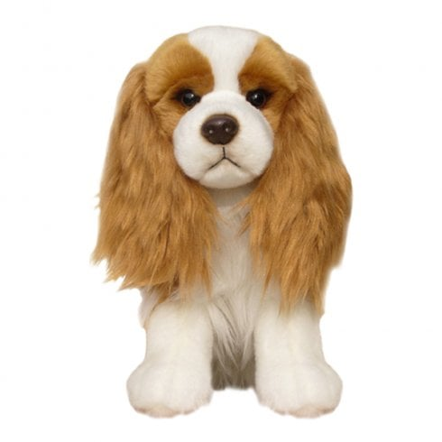 "Faithful Friends Collectables 12"" Cavalier Blenheim Soft Toy"
