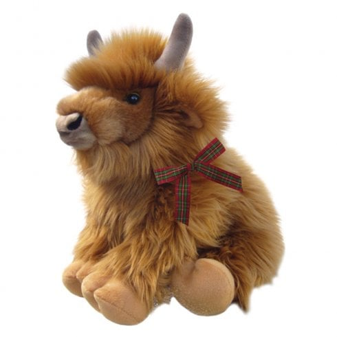 "Faithful Friends Collectables 12"" Harry The Highland Cow Soft Toy"