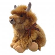 "12"" Harry The Highland Cow Soft Toy"