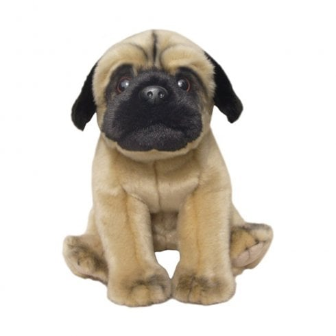 "Faithful Friends Collectables 12"" Pug Soft Toy"