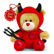14cm Pipp The Bear Valentine Devil