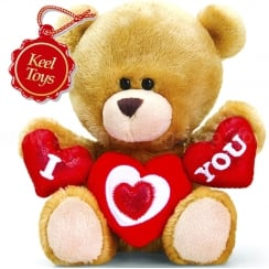 14cm Pipp The Bear Valentine I (Heart) You