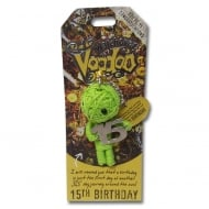 15th Birthday Voodoo Keyring