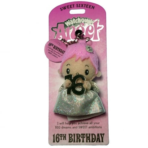 Watchover Angels 16th Birthday Angel Keyring