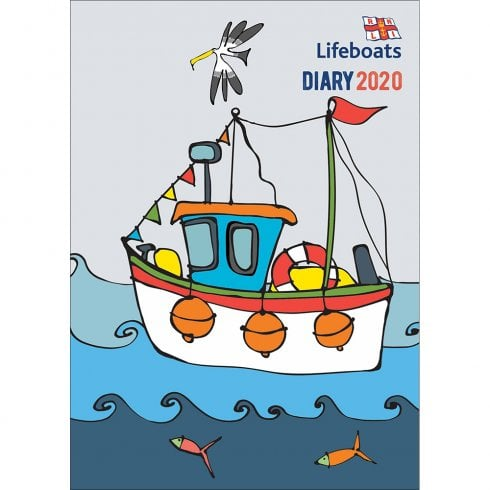 Otter House 2020 Diary - Lifeboats