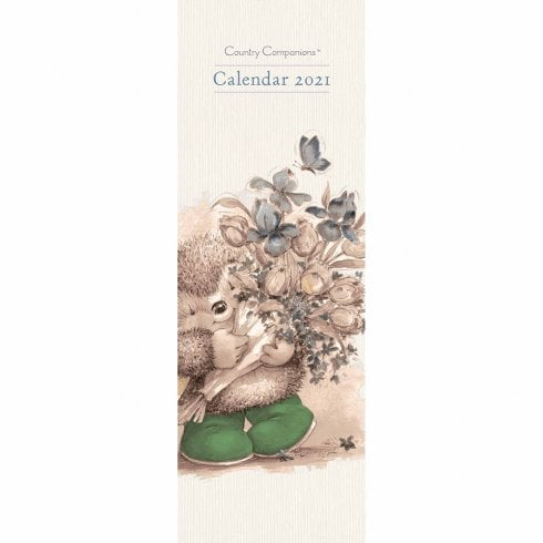 Otter House 2021 Slim Calendar-Country Companions