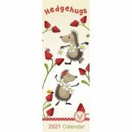 2021 Slim Calendar-Hedgehugs