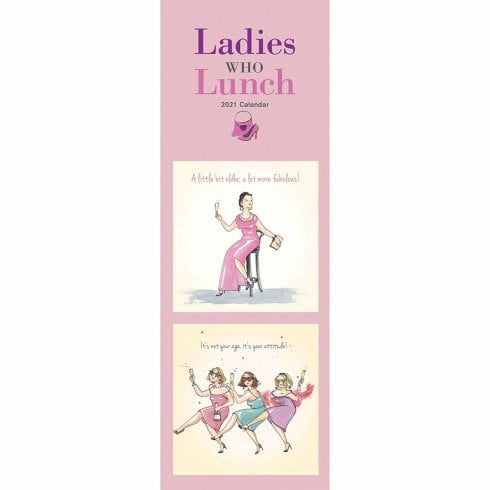 Otter House 2021 Slim Calendar - Ladies Who Lunch