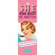 2021 Slim Calendar-She Who Must Be Obeyed
