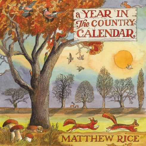 Otter House 2021 Wall Calendar- A Year In The Country