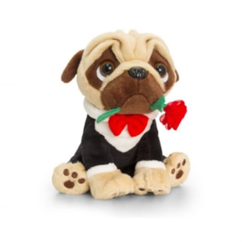 20cm Pugsley Valentines Suited