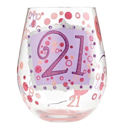 Lolita 21 Stemless Wine Glass