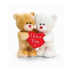 21cm Hugging Pipp The Bear W/Heart Standing