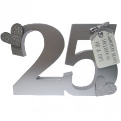 25th Anniversary Block