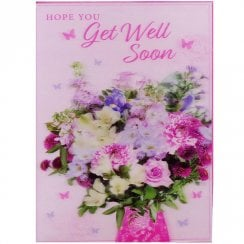 3D Card Get Well Soon