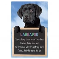 3D Home Hang-Up Labrador (Black)
