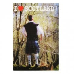 3D Kiltie Fridge Magnet