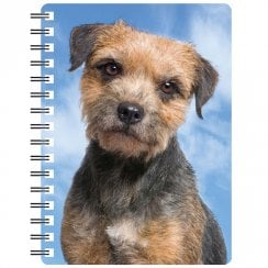 3D Notepad Border Terrier