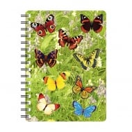 3D Notepad Butterflies 2