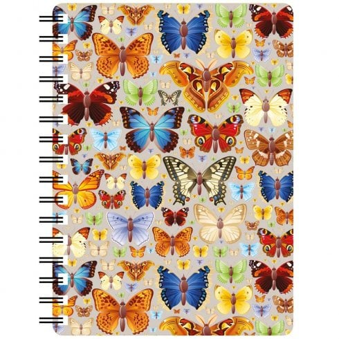 Faithful Friends Collectables 3D Notepad Butterflies Repeat Design