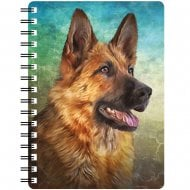 3D Notepad German Shepherd