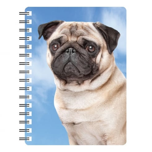 Faithful Friends Collectables 3D Notepad Pug 3D