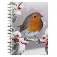 3D Notepad Robin In Snow 2