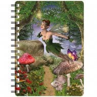 3D Notepad Spring Fairy In Magical Forest