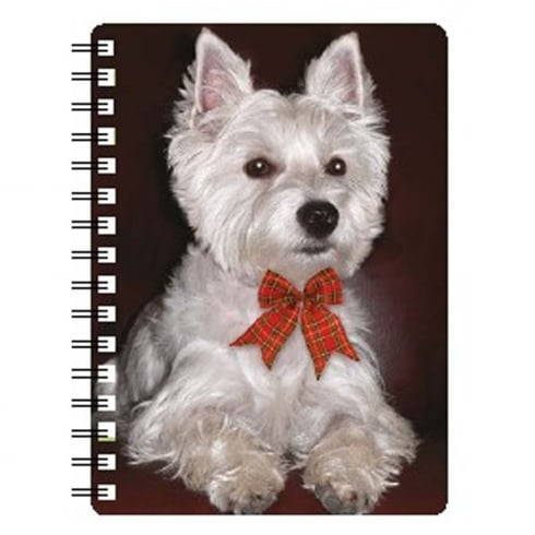 Faithful Friends Collectables 3D Notepad West Highland White Terrier