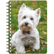3D Notepad West Highland White Terrier