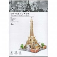 3D-Puzzle World Famous Architecture - Eiffel Tower