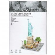 3D-Puzzle World Famous Architecture - Statue of Liberty