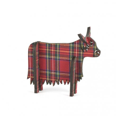 Artcuts 3D Standing Highland Cow Royal Stewart