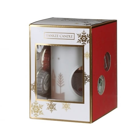 Yankee Candle 4 Wax Melts and Melt Warmer Gift Set