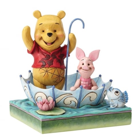 Disney Traditions 50 Years of Friendship Winnie the Pooh & Piglet