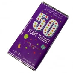 50 Years Young! Milk Chocolate Bar