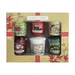 6 Votive Christmas Gift Set
