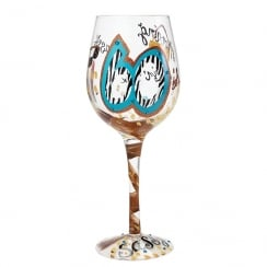 60 And Sassy Wine Glass