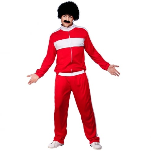 Wicked Costumes 80s Retro Trackie (Adult One Size)